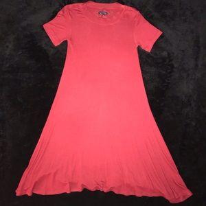 American Eagle red t-shirt dress